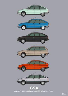 GSA Classic Car Collection