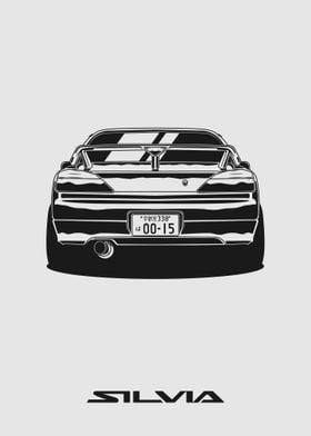 Silvia S15 Rear