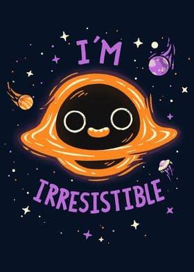 Black Hole Space Cute Fun