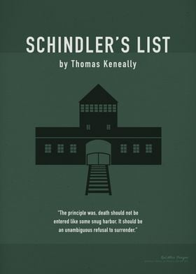 Schindlers List Book Art