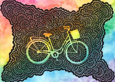 Rainbow City Bike