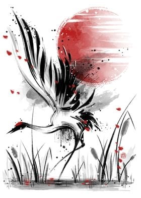 Ink crane