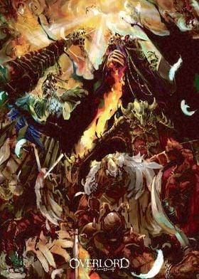 Anime Manga Overlord Ainz