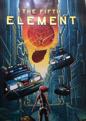 The Fifth Element Artwork