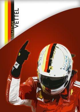Sebastian Vettel win
