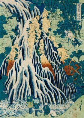 Waterfall Japanese Art