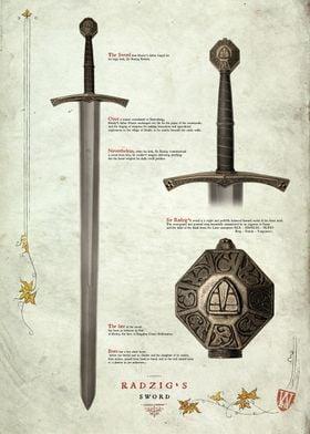 Sir Radzigs Sword Text