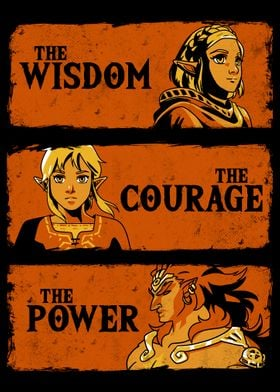 The Wisdom The Courage The