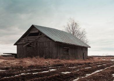 Abandoned Barn House