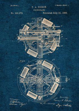 04 Phonograph Blueprint
