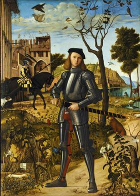 Young Knight in Landscape