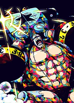 Franky Abstract Popart