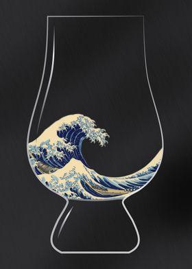 Kanagawa Glencairn Glass