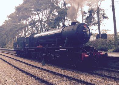 Steam Train Vintage