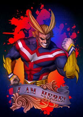 My Hero Academia All Might