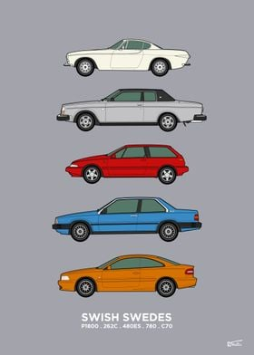 Swedish Coupes Collection