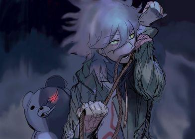 Nagito and Monokuma