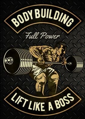 Bodybuilding Boss Lifter