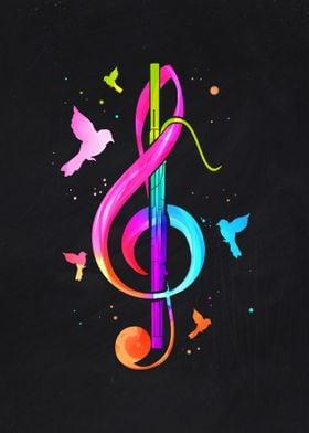 Bassoon Music Note
