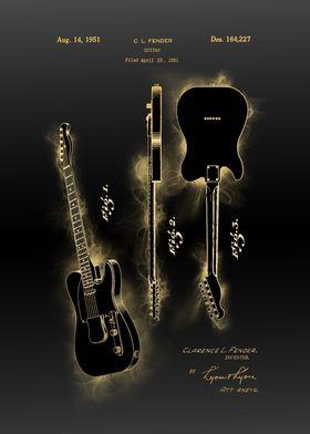 electric guitar 3 patent