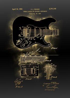 electric guitar patent