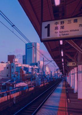 5am in Tokyo