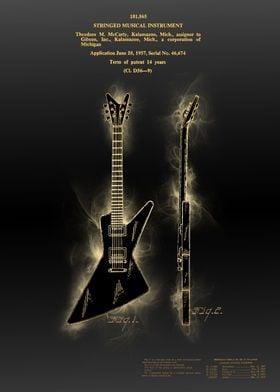 electric guitar patent 4