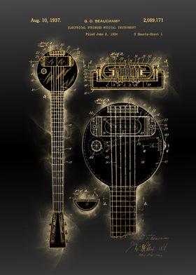 stringed instrument patent