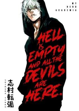 Anime Hero Academia Tenko