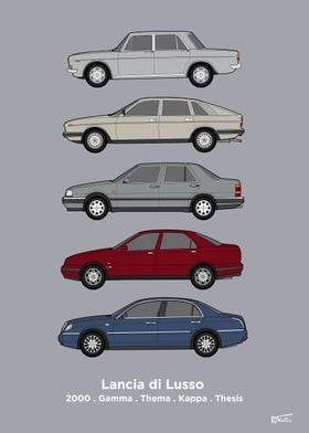 Luxury Lancia Collection