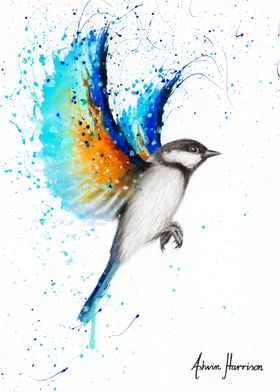 Travelling Blue Bird