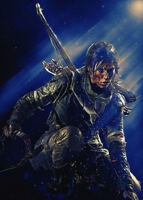 Lara Croft Cold Darkness