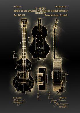 electric guitar patent 6