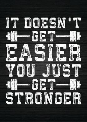 Easier vs Stronger