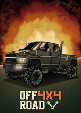 Offroad Pickup Truck