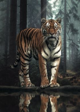 The Tiger in The Forest