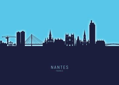 Nantes Skyline France