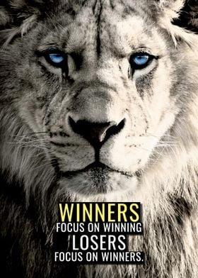 Winners Focus on Winning