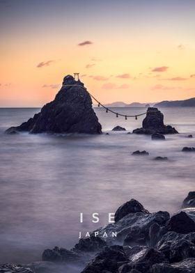 Ise Meoto Iwa Japan