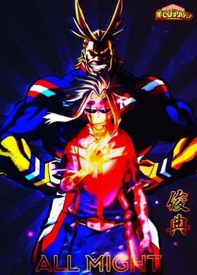 Anime BNHA All Might