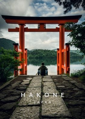 Hakone Shrine Japan