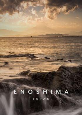 Enoshima island Japan