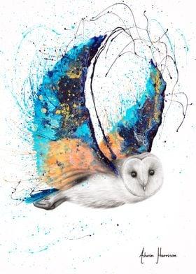 Majestic Moonlight Owl