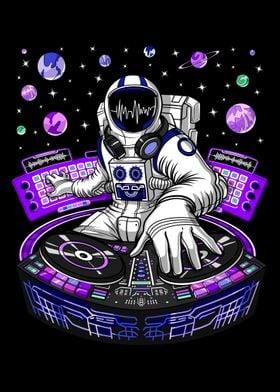 Astronaut Techno Music DJ