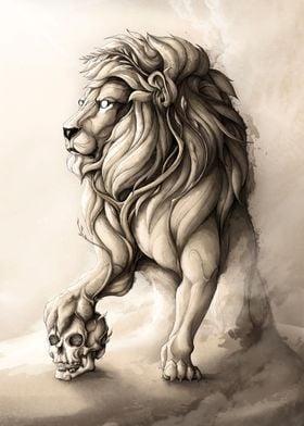The Wood Lion