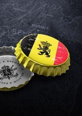 Belgium beer cap