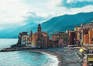 The bay of Camogli