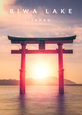 Biwa Lake Japan