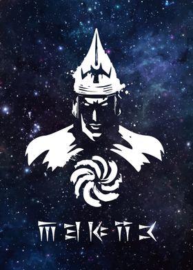 Cosmic Warrior Blue