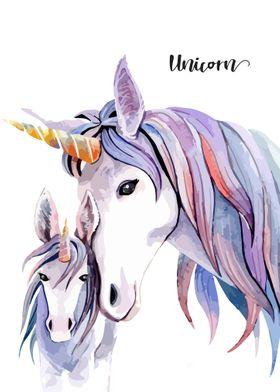 unicorn potrait 7